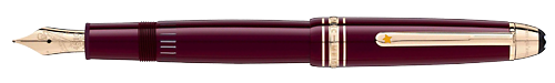 Burgundy     finish - LeGrand Fountain Pen shown