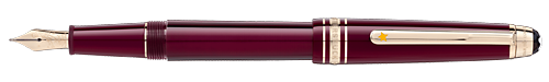 Burgundy    finish - Classique Fountain Pen  shown