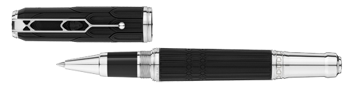 Montblanc Limited Editions - Victor Hugo Writers Edition - Year: 2020 - Black   (IN STOCK) - Rollerball   (Reg: $870)