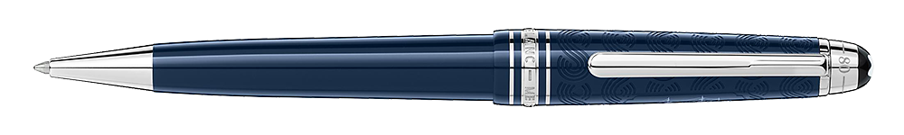 Montblanc - Meisterstuck Around The World In 80 Days - Blue (#126342)   Midsize Ballpoint (Reg: $595)