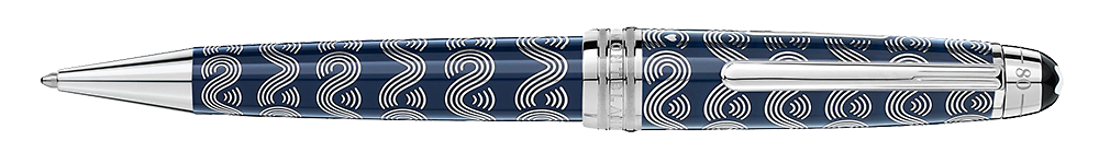 Montblanc - Meisterstuck Around The World In 80 Days - Solitaire (#126355)   Midsize Ballpoint  (Reg: $1370)