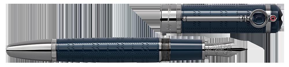 Montblanc Limited Editions - Arthur Conan Doyle Writers Edition - Year: 2021 - Blue - Fountain Pen (Reg: $1,150)