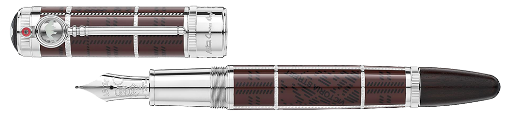 Montblanc Limited Editions - Arthur Conan Doyle Writers Edition 1902 - Year: 2021 - Brown - Edition: 1902 - Fountain Pen (Reg: $4,600)