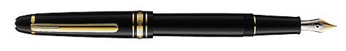 Black with Gold Trim(#106514) finish - Chopin Fountain Pen #145-Cartridge/Converter Fill  (Reg: $580) shown