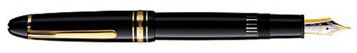 Black with Gold Trim(#13661) finish - LeGrand Fountain Pen #146-Bottle Fill Only  (Reg: $705) shown