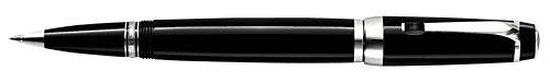 Montblanc - Bohème - Precious Resin - Black & Platinum with Onyx Rollerball #25310  (Reg: $550)