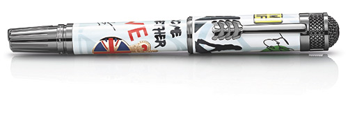 The Beatles 1963 Limited Edition finish - Rollerball  (Reg: $2,960) shown