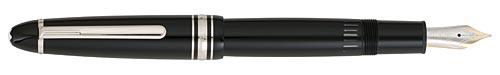 Montblanc - Meisterstuck - Platinum Trim - Black with Platinum Trim LeGrand Fountain Pen #P146