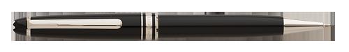 Montblanc - Meisterstuck - Platinum Trim - Black with Platinum Trim Classique Pencil #P165  (#2868)