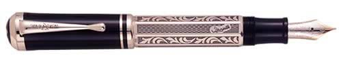 Montblanc Limited Editions - Marcel Proust  - Year: 1999 - Sterling Silver - Fountain Pen