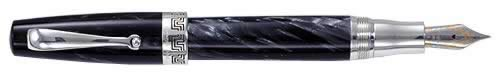 Montegrappa Limited Editions - Historia - Year: 2000 - Charcoal - Edition: 1000 Pens and Book