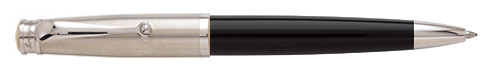 Black & Satin   finish - Ball Pen shown