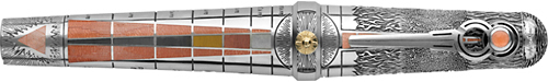 Earth-Sterling Silver/Enamel finish - Rollerball  (Reg: $9,500) shown