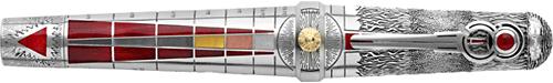 Montegrappa - Alchemist - Fire-Sterling Silver/Enamel Rollerball   (Reg: $9,500)