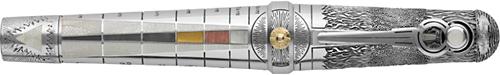 Montegrappa - Alchemist - Air-Sterling Silver/Enamel Fountain Pen  (Reg: $10,000)