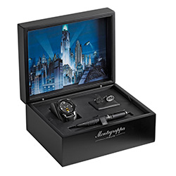 Montegrappa Limited Editions - Batman - Year: 2012 - Black - Edition: 500 Sets - Fountain Pen with Watch/Cuff Links (List Price: $5695)