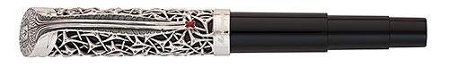 Montegrappa Limited Editions - Brain - Year: 2012 - Sterling Silver - Edition: 900 Rollerballs - Rollerball