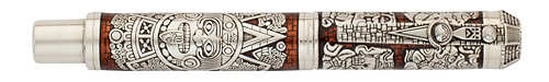 Montegrappa Limited Editions - Mayan Calendar - Year: 2012 - Silver - Edition: 360 Rollerballs - Rollerball