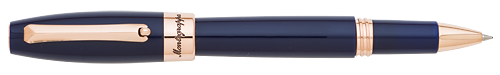 Navy Blue & Rose Gold finish - Rollerball  (List Price; $235) shown