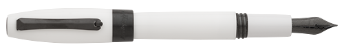 White & Ruthenium finish - Fountain Pen (List Price; $275) shown