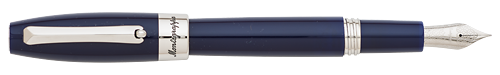 Navy Blue & Palladium finish - Fountain Pen (List Price; $275) shown