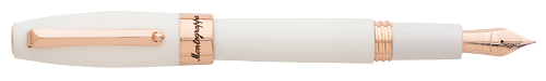White & Rose Gold finish - Fountain Pen (List Price; $275) shown