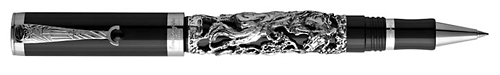 Montegrappa Limited Editions - Horse - Year: 2014 - Sterling Silver/Black Resin - Edition: 888 Rollerballs - Rollerball (List Price: $1875)