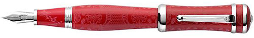 Montegrappa Limited Editions - Sophia Loren - Year: 2015 - Red & Silver - Fountain Pen (List Price: $1600)
