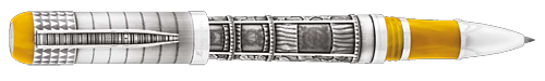 Montegrappa Limited Editions - Memory - Year: 2016 - Silver   - Edition: 300 Rollerballs - Rollerball  (Reg: $2,695)