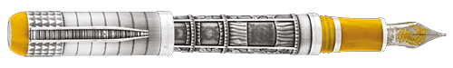 Montegrappa Limited Editions - Memory - Year: 2016 - Silver  - Edition: 300 Fountain Pens - Fountain Pen (Reg: $2,795)