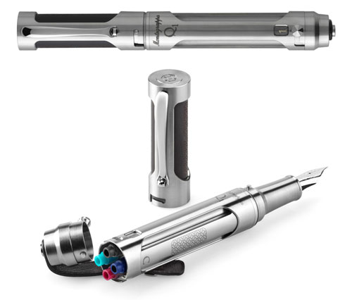 Montegrappa Limited Editions - Q1 - Year: 2015 - Silver - Edition: 100 - Fountain Pen