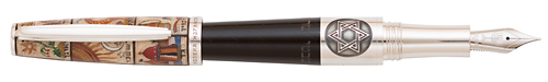 Montegrappa Limited Editions - Twelve Tribes - Year: 2012 - Edition: 111 Total Pens - Fountain Pen (List Price: $6750)