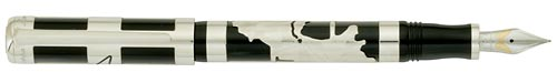 Montegrappa Limited Editions - Paulo Coelho - Year: 2009 - Sterling Silver  - Edition: 1000 Pens - Fountain Pen (List Price: $2650)