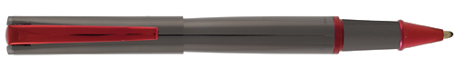 Gun Metal/Red finish - Rollerball shown