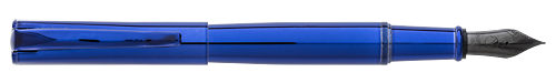 Blue/Blue finish - Fountain Pen shown