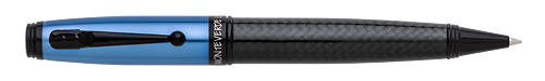 Blue & Carbon Fiber finish - Ball Pen shown