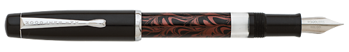 Rebellion Red Ebonite finish - Fountain Pen shown