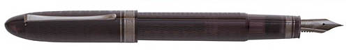 Omas Limited Editions - Vintage 360 Smoky - Black/Ruthenium  (Sold Out) - Edition: 360 Fountain Pens - Fountain Pen