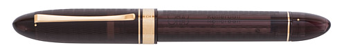 Omas Limited Editions - Vintage 360 Smoky - Black/Gold (Sold Out) - Edition: 360 Fountain Pens - Fountain Pen