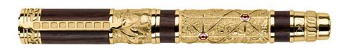 Omas Limited Editions - Piri Reis - Year: 2013 - Yellow Gold Vermeil  - Edition: 300 Fountain Pen - Fountain Pen