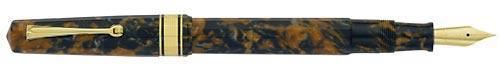 Omas Limited Editions - Vintage Paragon - Year: 2011 - Blue Saffron Gold Trim - Edition: 40 Fountain Pens - Fountain Pen
