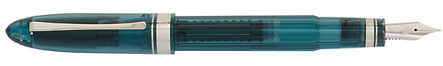 Omas Limited Editions - Vintage 360 Teal Demonstrator - Year: 2012 - Transparent Teal  - Edition: 360 Fountain Pens - Fountain Pen