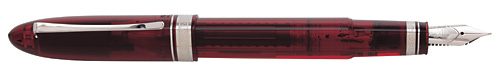 Omas Limited Editions - Vintage 360 Red Demonstrator - Year: 2012 - Transparent Red - Edition: 360 Fountain Pens - Fountain Pen