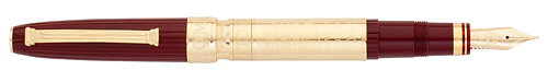 Omas Limited Editions - Roma - Year: 2012 - Brass/Burgundy  - Edition: 753 Fountain Pens - Fountain Pen