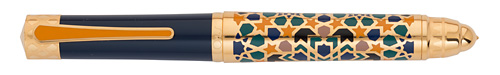 Omas Limited Editions - La Citta Granada  - Year: 2013 - Gold Vermeil (Gold Plating over Sterling Silver)  - Edition: 300 Fountain Pens - Fountain Pen