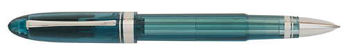 Omas Limited Editions - Vintage 360 Teal Demonstrator - Year: 2012 - Transparent Teal   - Edition: 96 Rollerballs - Rollerball