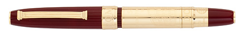Omas Limited Editions - Roma - Year: 2012 - Brass/Burgundy - Edition: 753 Rollerballs - Rollerball