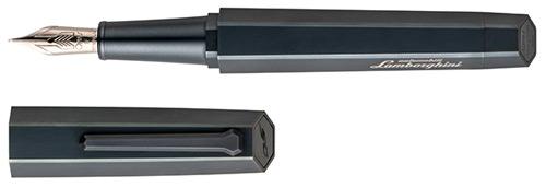 Omas Limited Editions - Lamborghini - Year: 2013 - Titanium Black  - Edition: 500 Fountain Pens - Fountain Pen