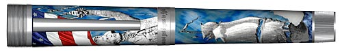 Omas Limited Editions - The Gentleman Seaman - Year: 2005  - Sterling Silver/Enamel - Edition: 779 Pens - Fountain Pen