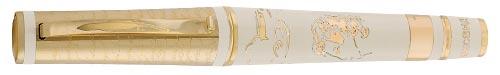 Omas Limited Editions - Pushkin - Year: 2007 - 18 Kt Gold/Enamel - Edition: 26 Fountain Pens - Fountain Pen